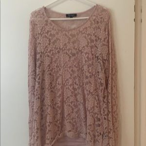 Lily morgan lace two peice top